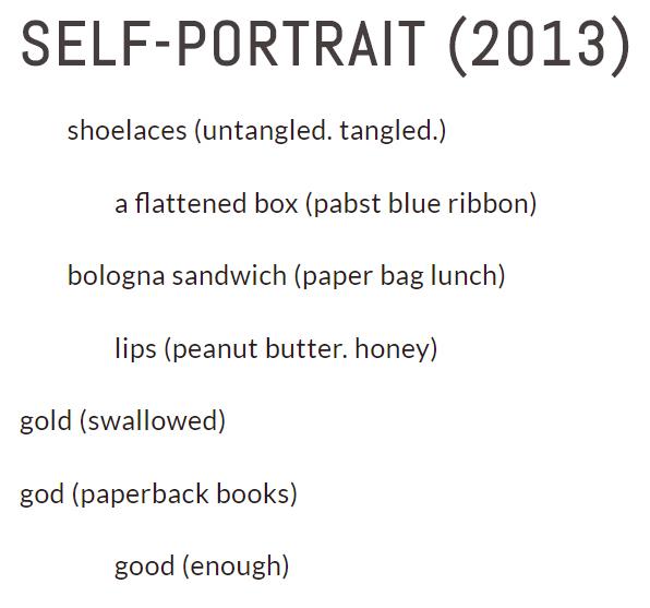 Self-Portrait (2013) by James Croal Jackson