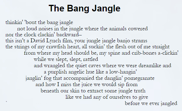 The Bang Jangle by James Croal Jackson