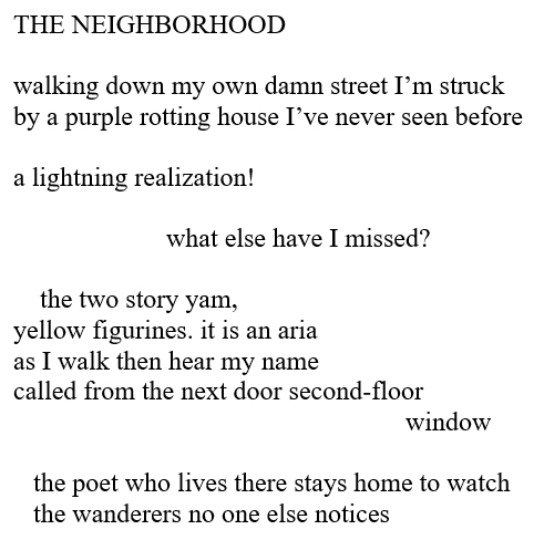 The Neighborhood by James Croal Jackson